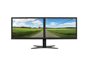 "DoubleSight Black 19"" 5ms LCD Monitor Built-in Speakers"
