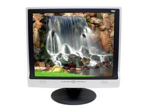 "NU L921G Black-Silver 19"" 8ms LCD Monitor Built-in Speakers"