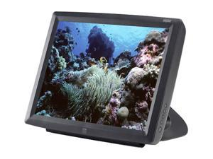 "ELO TOUCHSYSTEMS E700641 Dark gray 15"" USB no hub Acoustic Pulse Touchscreen Monitor Built-in Speakers"