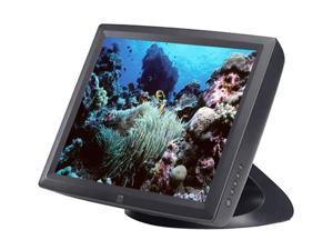 "ELO TOUCHSYSTEMS 1522L(E518492) Dark gray 15"" USB 5-wire Resistive Touchscreen Monitor Built-in Speakers"