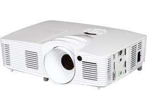 Optoma HD26 1920x1080 FHD 3200 ANSI Lumens, 16:9 Aspect Ratio, Dual HDMI / MHL Inputs, 120Hz Refresh Rate, Built In Speakers, 3D Ready DLP Projector