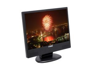 "X2GEN MW19A Black 19"" 8ms Widescreen LCD Monitor Built-in Speakers"