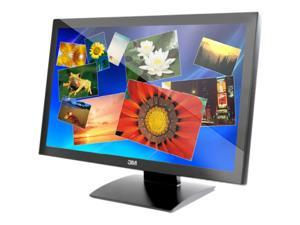 """3M M2467PW Black 24"""" USB Projected Capacitive 20-finger Multi-touch Monitor"""