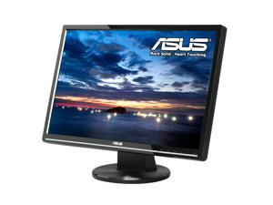"ASUS VW224U Black 22"" 2ms(GTG) Widescreen LCD Monitor Built-in Speakers"