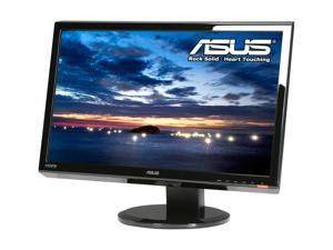 "ASUS VH242HL-P Black 23.6"" 5ms Widescreen LCD Monitor w/height & swivel adjustment Built-in Speakers"
