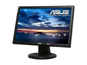 "ASUS VW193DR Black 19"" Widescreen LCD Monitor"
