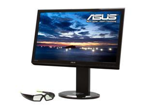 "Asus VG236H 23"" Full HD 120Hz 3D multimedia Height & Swivel Adjustable WideScreen LCD Monitor w/nVidia 3D Vision Kit hard ..."