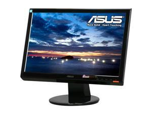 "ASUS VH198T Black 19"" 5ms Widescreen LED Backlight LCD Monitor Built-in Speakers"