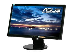 "ASUS VE Series VE208T Black 20"" 5ms LED Backlight  Widescreen LCD Monitor  W/ Speakers"