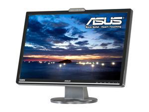 "ASUS VK222H Black 22"" 2 ms (GTG) Widescreen LCD Monitor w/Webcam Built-in Speakers"