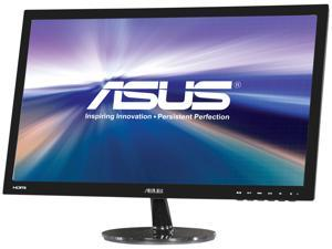 "ASUS VS Series VS247H-P Black 23.6"" 2ms LED Backlight Widescreen LCD Monitor"