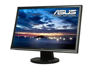 "ASUS VW222U Black 22"" 2ms(GTG) Widescreen LCD Monitor Built-in Speakers"