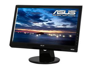 "ASUS VH203T Black 20"" 5ms Widescreen LCD Monitor Built-in Speakers"