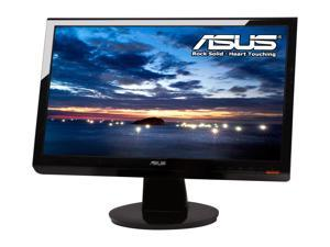 "ASUS VH202T-PB Glossy Black 20"" 5ms Widescreen LCD Monitor Built-in Speakers, B Grade, Light Scratches On the Screen and ..."