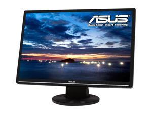 "ASUS VW224T-B Black 22"" 5ms Widescreen LCD Monitor Built-in Speakers, B Grade, Light Scratches On the Screen and / or Bezel"