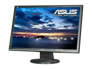 "ASUS VW225T-B Black 22"" 5ms Widescreen LCD Monitor Built-in Speakers, B Grade, Light Scratches On the Screen and / or Bezel"