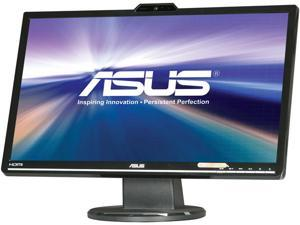 "ASUS VK248H-CSM Black 24"" 2ms (GTG) HDMI Widescreen LED-Backlit LCD Monitor 250 cd/m2 ASCR 50000000:1 Built-in Speakers&Webcam"
