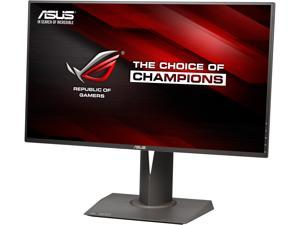 "ASUS ROG PG278Q Black 27"" WQHD  2560 x 1440, 144 Hz 1ms (GTG) NVIDIA G-Sync Gaming Monitor with Exclusive GamePlus onscreen timer / crosshair, Tilt, Swivel, Pivot, Height Adjustable"