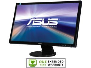 """ASUS VE248H Black 24"""" 2ms GTG HDMI Widescreen LED Backlight LCD Monitor"""