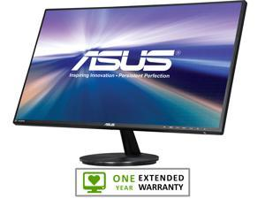 "ASUS VN279Q Black 27"" 5ms HDMI Widescreen LED Backlight Ultra Wide View Monitor With 1 Year Extended Warranty"