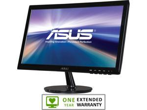 "ASUS VS197T-P Black 18.5"" 5ms Widescreen LED Backlight Monitor With 1 Year Extended Warranty"
