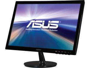"ASUS VS Series VS198D-P Black 19"" 5ms Widescreen LED Backlight LCD Monitor With 1 Year Extended Warranty"