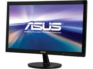 "ASUS VS207T-P-12 Black 19.5"" 5ms Widescreen LED Backlight LCD Monitor With 1 Year Extended Warranty"