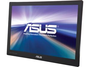 "ASUS MB169C+-X Silver / Black 15.6"" 5ms (GTG) Widescreen LED Backlight LCD Monitor"