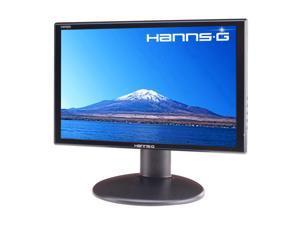 """Hanns-G HW-192DJB Gloss Black 19"""" 5ms Widescreen LCD Monitor Built-in Speakers"""