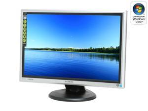 "Hanns·G HG-216DPO Silver/Black 22""(21.6"" viewable area) 5ms Widescreen HDMI LCD Monitor Built in Speakers"