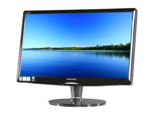 "Hanns-G HZ201DPB Black 20"" 5ms LED Backlight LCD Monitor Built-in Speakers"