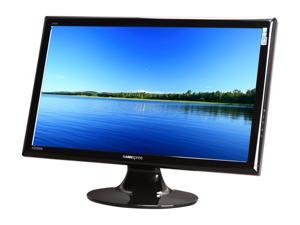 "HANNspree HF257HPB Black 24.6"" 2ms GTG Widescreen LCD Monitor Built-in Speakers"