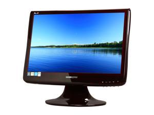 "HANNspree Joy Series SM198DPR Black / Red 19"" 5ms Widescreen LCD Monitor Built-in Speakers"