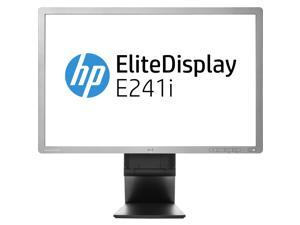"HP Gray 24"" 8ms LED Backlight LCD Monitor Built-in Speakers"