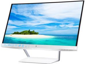 "HP Pavilion 23XW Silver white 23"" IPS 7ms (GTG) Ultra-Wide Frameless LCD/LED Monitor with Anti-Glare Treatment and Amazing Viewing Angles (Grade C)"