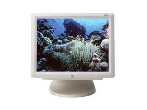 "ELO TOUCHSYSTEMS 1529L Beige 15"" Serial/USB IntelliTouch Touchscreen Monitor Built-in Speakers"