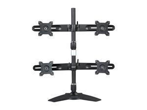Planar 997-5602-00 Black Quad Monitor Stand for LCD Displays