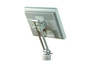 "Peerless-AV LCV-100 LCD Vertical Desktop Mount for 10"" to 20"" Screens VESA 75/100 Adapter Plate"