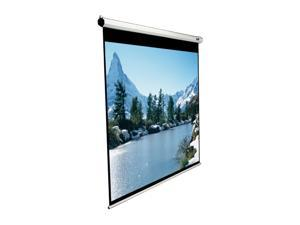 "Elitescreens Manual Ceiling/Wall Mount Manual Pull Down Projection Screen (84"" 4:3 AR) (MaxWhite) M84NWV"