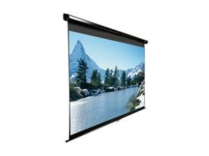 "EliteSCREENS M119UWS1 Manual Ceiling/Wall Mount Manual Pull Down Projection Screen (119"" 1:1 AR) (MaxWhite)"