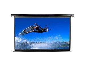 "Elitescreens 99"" Standard(1:1) Electric VMAX2 Ceiling/Wall Mount Electric Projection Screen (99"" 1:1 AR) (MaxWhite) VMAX99UWS2"
