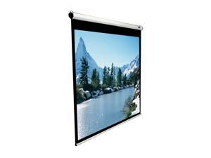 "Elitescreens Manual Ceiling/Wall Mount Manual Pull Down Projection Screen (71"" 1:1 AR) (MaxWhite) M71XWS1"