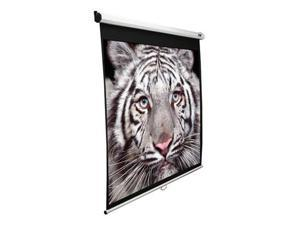 "EliteSCREENS M120XWV2-SRM Manual SRM Ceiling/Wall Mount Manual Pull Down Projection Screen (120"" 4:3 AR) (MaxWhite)"