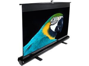 "EliteSCREENS F135NWH ezCinema Portable Floor Set Manual Projection Screen (135"" 16:9 AR) (MaxWhite)"