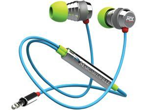 Margaritaville Black MIX2 MACAW 3.5mm Connector In-ear Monitor Headphones With Microphone (macaw)