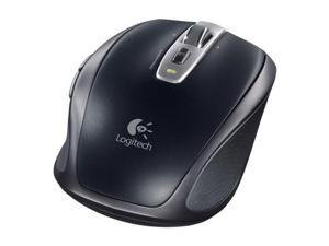 Logitech Anywhere Black Advanced 2.4 GHz wireless Laser Mouse MX