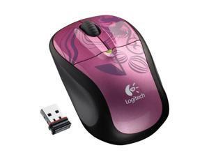 Logitech Wireless Mouse M305 Pink Balance RF Wireless Optical Mouse