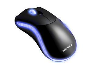 Microsoft 9VV-00001 Black Wired Laser Habu Gaming Mouse