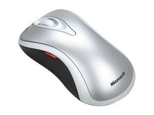 Microsoft D1T-00002 Silver Wired Optical Mouse