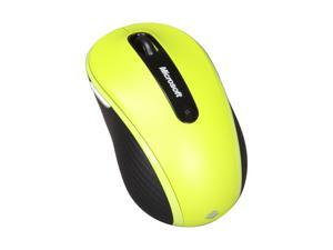 Microsoft D5D-00031 Lime Green 2.4 GHz Wireless Mobile Mouse 4000